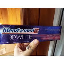 Отзывы о <b>Зубная паста Blend</b>-a-<b>med 3D</b> White Бодрящая свежесть