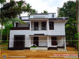 Modern finished house in Kerala   Kerala home design and floor plansDesign style   Modern Modern finished house front view