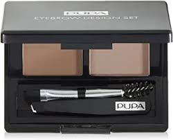 <b>PUPA</b> Milano <b>Eyebrow</b> Design Set, Dark <b>Brown</b> 1.1 g: Amazon.co.uk ...
