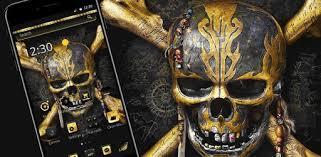 Golden <b>Vintage</b> Metal <b>Skull</b> Theme – Apps i Google Play