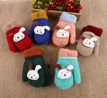 Милые зимние <b>перчатки для</b> маленьких детей, милые ...