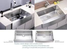 we include mounting clips and template uses a 35 drain opening apron kitchen sink