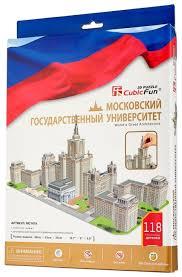 3D-пазл <b>CubicFun Московский государственный</b> университет ...