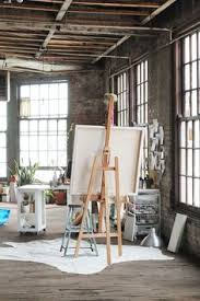 art studio with great lighting in an industrial loft great lighting and warmth artists studio lighting