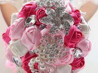65 Best <b>Silk Rose Bouquet</b> images   Wedding bouquets, Flower ...