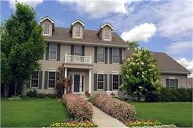 Colonial Style Houses and Home Plans   The Plan CollectionColonial House Plans