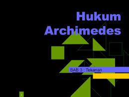 Hasil gambar untuk animasi hukum archimedes