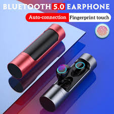 5 0 wireless bluetooth earphones in ear earbuds stereo bass sound mini true