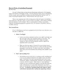 concluding paragraph english essay