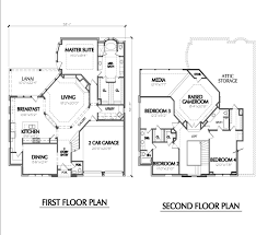 floor plans of a two storied banglow office waplag awesome unique 2 story with home plan awesome home office 2 2