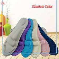 1 Pair 4D Sponge Pain Relief Soft Insoles Arch Support ... - Vova