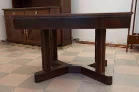 vintage art nouveau dining table by otto wytrlik art deco dining 7