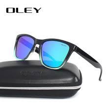 OLEY Зеркальные <b>Солнцезащитные</b> очки мужские <b>классические</b> ...
