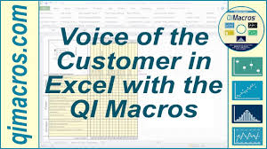 Voice of the Customer in Excel, with the QI Macros - YouTube