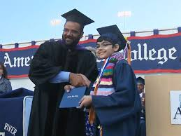 tanishq abraham graduates from american river college at age  11 year old college graduate this isn t much of a big deal to me