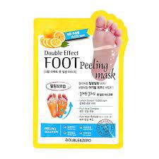 <b>Маска</b>-<b>носочки для</b> ног `DOUBLE & ZERO` <b>отшелушивающая</b> 40 мл