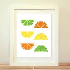 Lemon And Lime Kitchen Decor Orange Lime Lemon Citrus Print Citrus Poster Orange Print