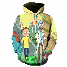 <b>2019</b> new Galaxy <b>Hoodies Men Hoody 3D Sweatshirt</b> Rick and ...