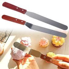 <b>6</b>/<b>8 inch</b> Blade Stainless Steel <b>Butter</b> Cake Cream Knife Spatula ...
