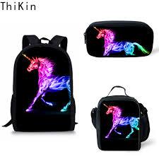 <b>THIKIN</b> Customized <b>3pcs Set</b> Kawaii Unicorn School Bag for Baby ...