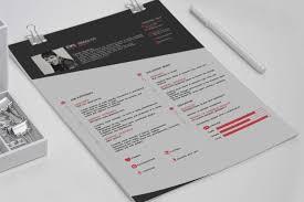 cv resume template on behance