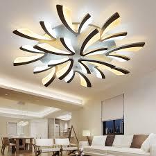 Dandelion Acrylic <b>Modern Led Ceiling Lights</b> Dia120 100 80 70 ...