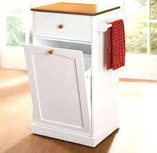 Kitchen Cabinet Garbage Drawer Trash Can For Kitchen City Trash Can
