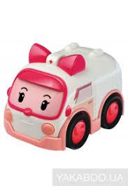 Автомобиль <b>радиоуправляемый</b> Silverlit <b>Robocar POLI</b> Эмбер ...