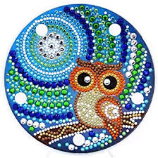 Prosperveil <b>DIY 5D</b> Diamond Painting Cute Owl Kits with Warm ...