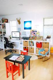 sharing your space with the kids keep in mind for future use and at amazing playroom office shared space