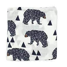 Bamboo Soft Muslin Swaddle Blankets Premium ... - Amazon.com