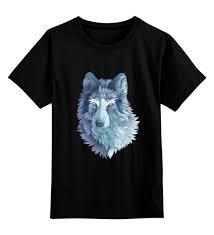 Детская <b>футболка классическая</b> унисекс <b>Beautiful</b> wolf #2214189 ...