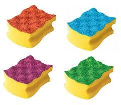 <b>Vileda губка Pure Colors</b> неупакованная 1 шт купить с доставкой в ...