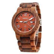 wooden men 39 s watch