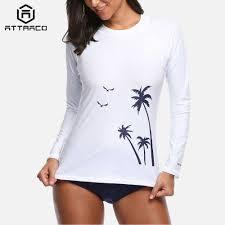 <b>Attraco Women Rash Guard</b> Short Sleeve Shirts Rashguard ...