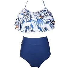 GALLDEALS <b>Mother</b> and Daughter <b>Swimwear Family Matching</b>
