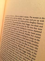 toni morrison the stockholm shelf one of the great first pages in american fiction toni morrison s