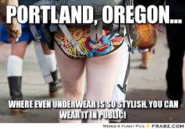 Portland, oregon...... - Meme Generator Captionator via Relatably.com