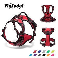 <b>MySudui Truelove</b> Large <b>No Pull</b> Dog Harness 3M Reflective Collar ...