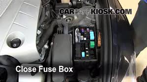 replace a fuse lexus gs lexus gs l v 6 replace cover secure the cover and test component