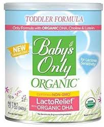 <b>Baby's Only Organic</b> LactoRelief with DHA & ARA Toddler Formula ...