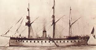 Resultado de imagen para primer barco a vapor en el peru