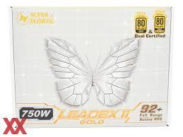 Тест и обзор: <b>Super Flower</b> Leadex II Gold 750W (SF-750F14EG ...