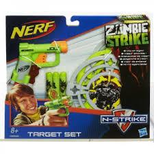 Набор <b>игровой Hasbro Nerf</b> зомби страйк мишени + джолт ...