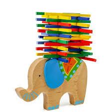 Elephant <b>Camel</b> Building Blocks <b>Baby</b> Wooden <b>Educational Toy</b> ...