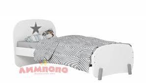 <b>Кровать детская Polini kids</b> Mirum 1910, белый <b>Кровать детская</b> ...