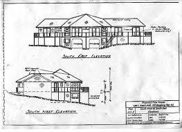 ELEVATED HOUSE PLANS   FREE FLOOR PLANSHouse Plans   Clarke    s Design