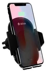 <b>Держатель</b> с беспроводной зарядкой <b>Devia</b> Smart <b>Infrared Sensor</b> ...