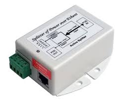 GigE Splitter,<b>802.3at PoE</b> to 12V 20W Out