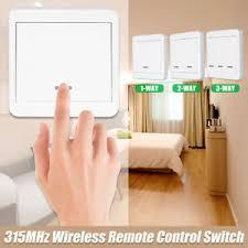315MHz RF <b>Wireless Remote</b> Control Switch New <b>Wall Panel</b> ...